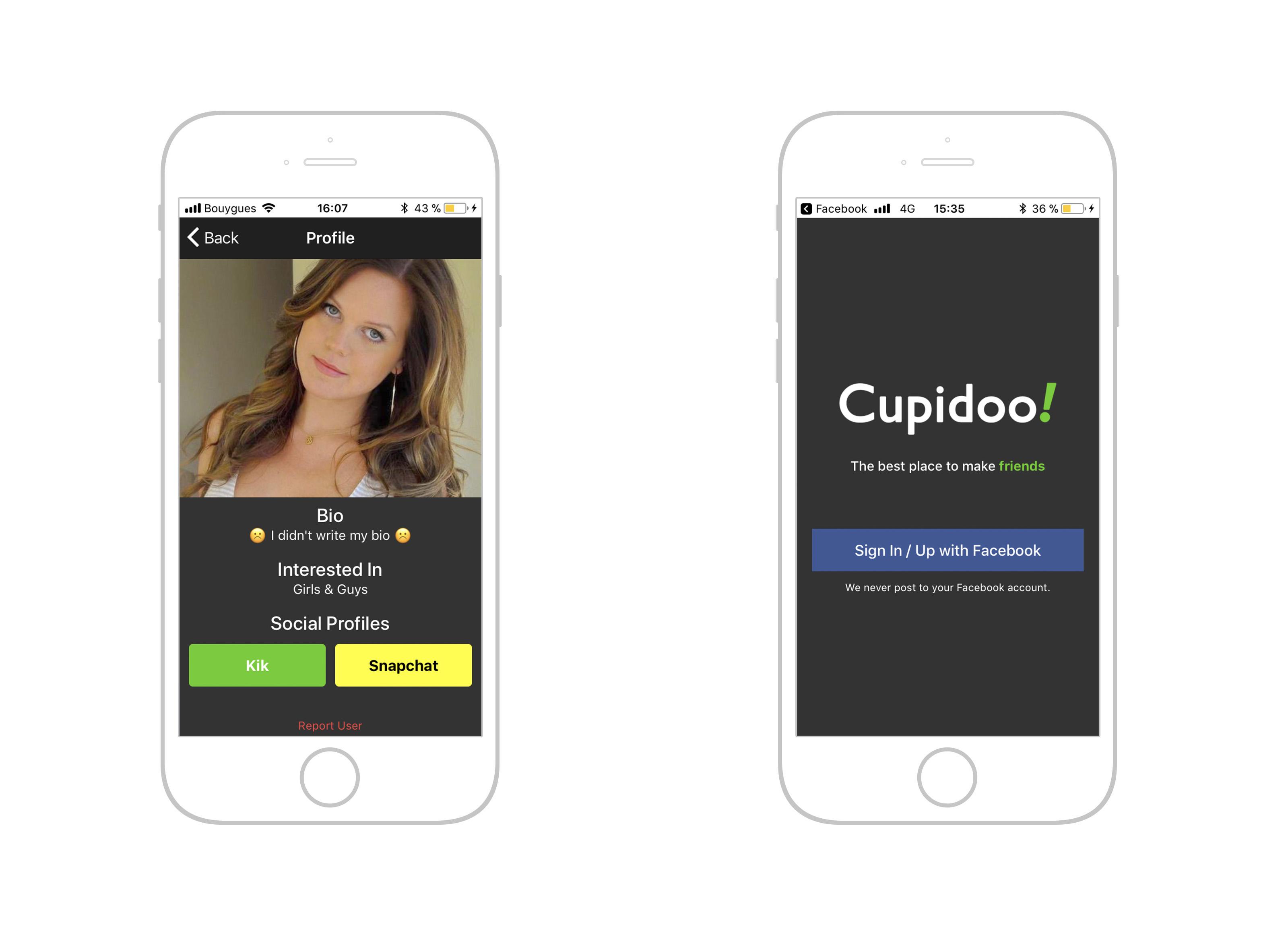 Dating app voor Creatives