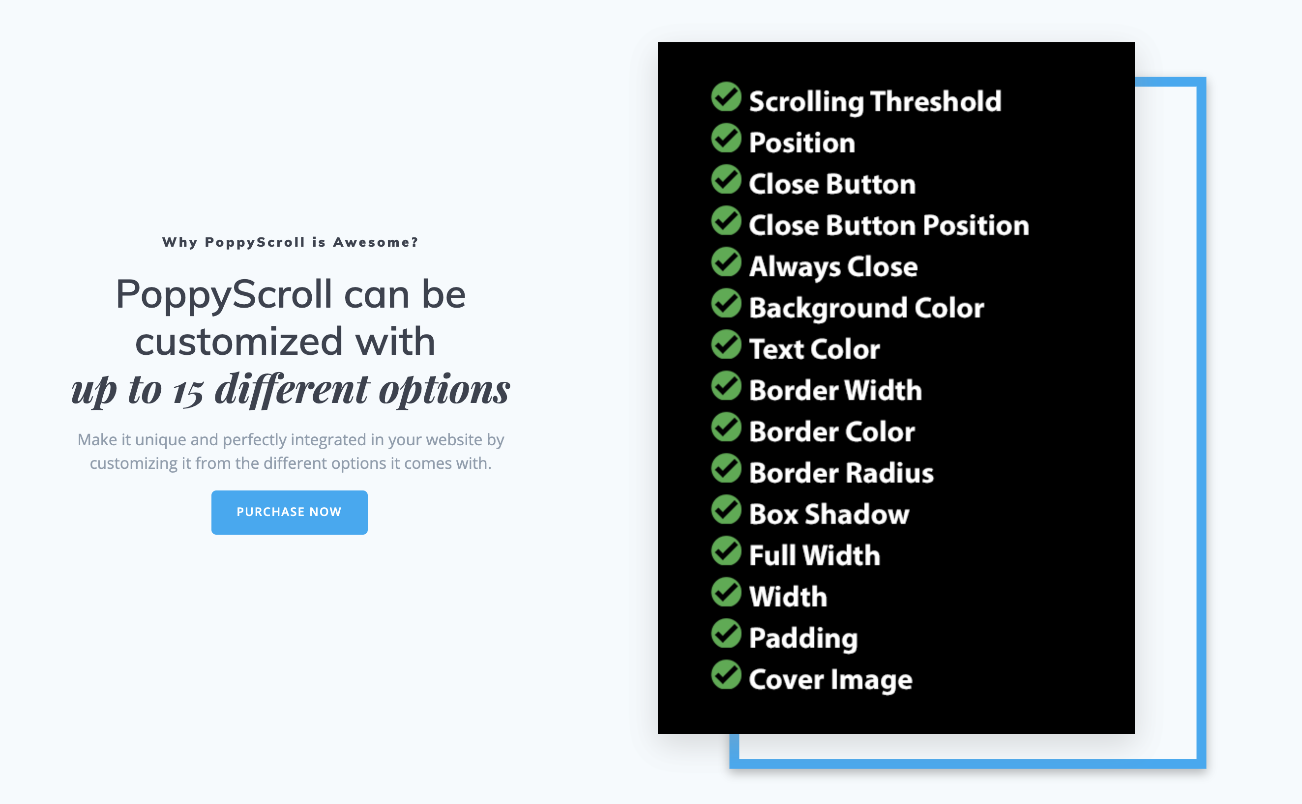 PoppyScroll WP - Non-Intrusive Responsive Popup on Scroll for WordPress - 2